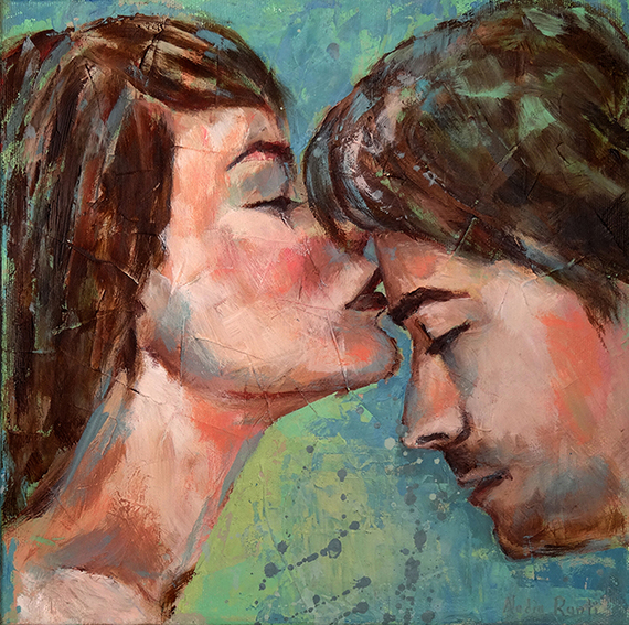 Tender kiss (SOLD)
