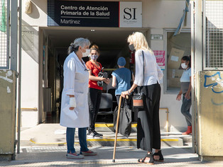 Amplían el Centro de Salud de Martínez, mientras el COVID le gana la lucha a los anti todo
