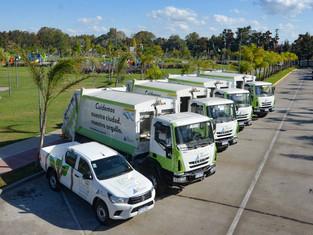 Juan Andreotti no para de tirar camiones a la calle