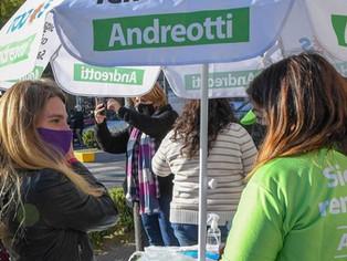 Andreotti ratificó triunfo electoral