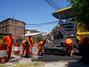 Corte de calles en Olivos