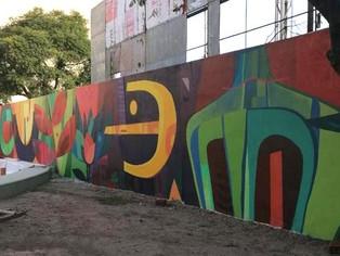 En un distrito con memoria débil, un mural en la plazoleta de la Memoria