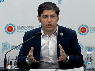 Kicillof anunció importante Plan de Infraestructura para municipios, de todos colores políticos