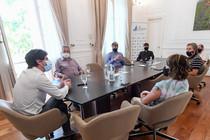 Andreotti ratifica lazos institucionales con la comunidad evangélica