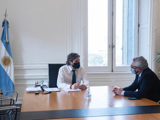 Julio Zamora junto a Cafiero: mucho más que una foto, política y nuevo hospital