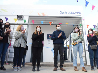 San Martín siempre joven: habilitaron un nuevo Centro Juvenil