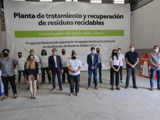 San Fernando ya tiene la máquina para la futura Planta Recicladora, la primera de la Región Norte