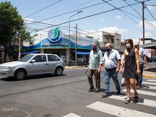 Convierten a la calle Paraná en peatonal