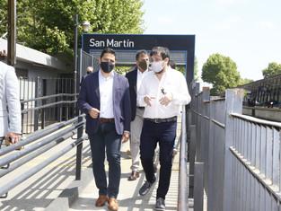 San Martín cerró acuerdo con Trenes Argentinos: construyen espacio para la niñez