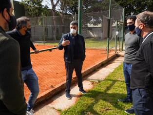 Jorge Macri banca los raquetazos