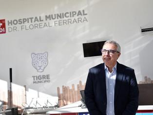 Zamora referencia a Massa, va por otro gran sueño: Hospital Municipal de Adultos