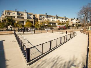 Beccar: el municipio construye nuevo espacio público
