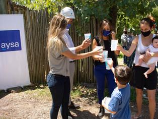 AySA: otras 500 personas beneficiadas con la llegada de agua potable