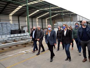 Galmarin, Zamora, Ferraresi: apoyo a PyMes y construcción de 220 viviendas