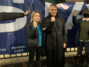Espert cerró campaña en La Plata, donde más disfruta