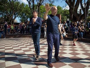 Larreta, cercenando a la prensa, aterrizó en los pagos de Posse y le dio una estocada a Macri