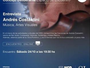 El HCD de San Isidro navega entre el COVID y las actividades artísticas