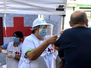La infectadura contra el COVID, en San Martín,vacunó al 20% de la población registrada