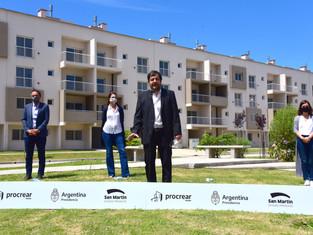San Martín: del abandono amarillo a la entrega de 335 viviendas
