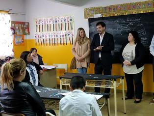 Galmarini:quiere seguir cayéndose…en la escuela pública que Vidal olvida