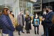El intendente Macri mostró, a familiares de víctimas por violencia de género, central de monitoreo