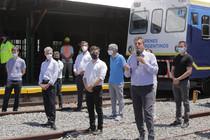 Massa, junto a Kicillof, a bordo del tren del federalismo y la unidad