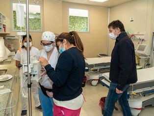 Con aporte provincial, el Materno Infantil de San Isidro sumó 4 camas de terapia para embarazadas