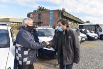 El intendente Fernando Moreira sumó 10 nuevo móviles para San Martín