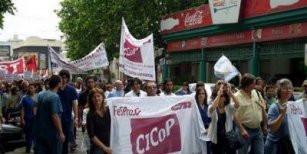 Paro médico en Buenos Aires; docentes en puerta