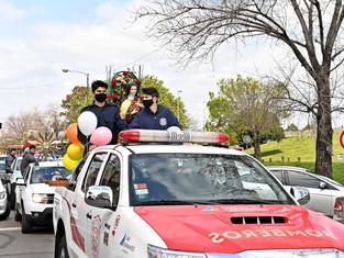 San Fernando:la fe mueve montañas, vehículos también