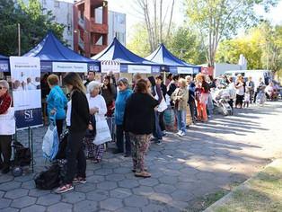 Ferias callejeras copan el Bajo de San Isidro