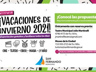 San Fernando para los chicos: programas para las vacaciones de inviernos