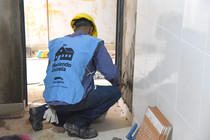 Mientras otros se quejan, en San Martín aprovechan para avanzar con obras en las escuela
