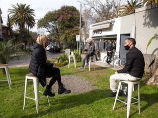 En San Isidro celebran la apertura de más de 100 locales de gastronomía
