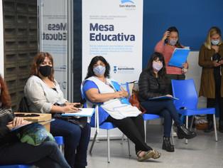 En San Martín, la educación es bandera prioritaria