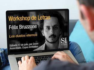 San Isidro:taller literario a cargo de Félix Bruzzone