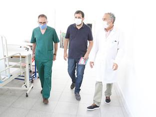 San Martín enfrenta el rebrote con un sistema de salud fortalecido, y con vacunas