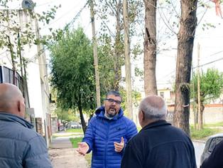 """El concejal Brest vocero de vecinos: """"Posse no nos escucha"""""""