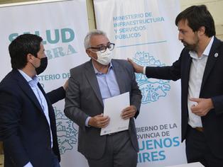 Del incendio a la reconstrucción: avanzan las obras en el Hospital de Gral. Pacheco