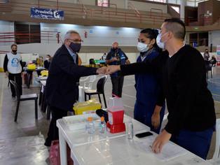 Córrete, Alberto y Axel te vacunan, Zamora también: 15.000 vecinos y vecinas lejos del COVID