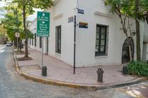 Nuevas veredas en el casco histórico de San Isidro