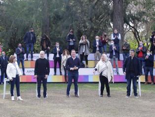 Diego Santilli ocultó a Macri y Vidal: presentó Juntos