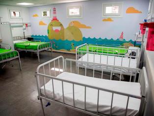 Nueva guardia pediátrica en el viejo Hospital Houssay