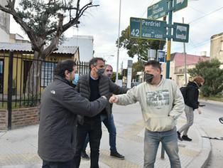 San Martín continúa con el plan integral de obras que Macri y Vidal no quisieron terminar