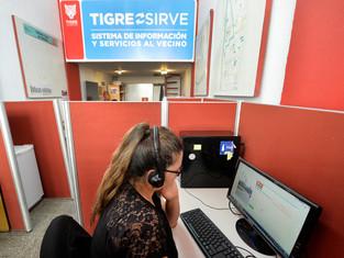 """Más de 100.000 personas consultaron a """"Tigre Sirve"""""""