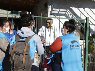 DETeCTAr llegó a los barrios de San Martín