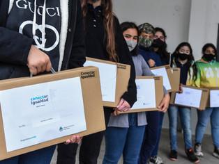 Más de 7 mil alumnos recibieron sus netbooks