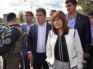Corren al Ministro Berni del trabajo con Fuerzas Federales