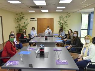 San Martín amplió acuerdos contra la violencia de género