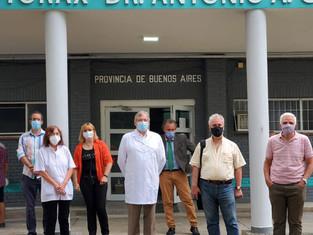 Concluyeron los trabajos en el Hospital Cetrángolo